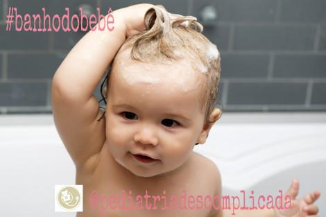 banho do bebe, ritual do banho, hora do banho, pediatria descomplicada, dra kelly oliveira