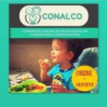 Alimentação saudável na infância – Inscreva-se no CONALCO!