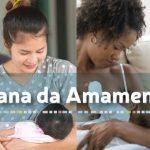 Programação especial para celebrar a semana mundial do aleitamento materno