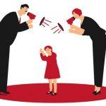 O que as crianças sentem quando os pais gritam